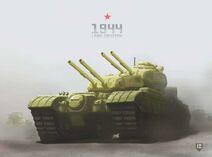 Soviet land cruiser