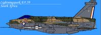 EE Lightning F6 SAAF 2