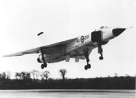 Avro-arrow-landing