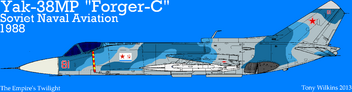 Yak38MP Soviet Navy