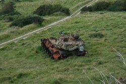 Abandoned-CHIEFTAIN-tank phixr