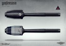 Standard grenade and Tesla grenade