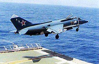 Yakovlev-Yak-38-Carrier-Launch
