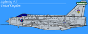 EE Lightning F6 RAUXAF