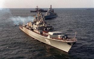 Krivak I class frigate BDITELNY