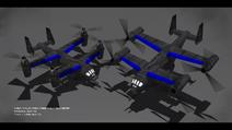 USA Valkyria Assault Gunship