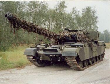 Chieftain-tank