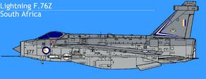 EE Lightning F6 SAAF 3