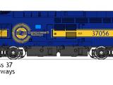 Class 37 Diesel Locomotive
