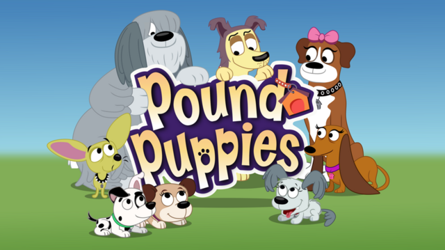 File:1000px-Pound Puppies Title Card.png