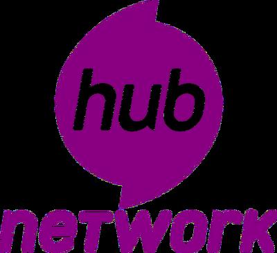Hub Network logo stacked