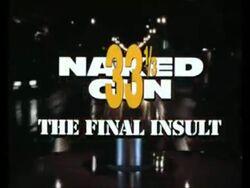 Naked Gun 33 Title