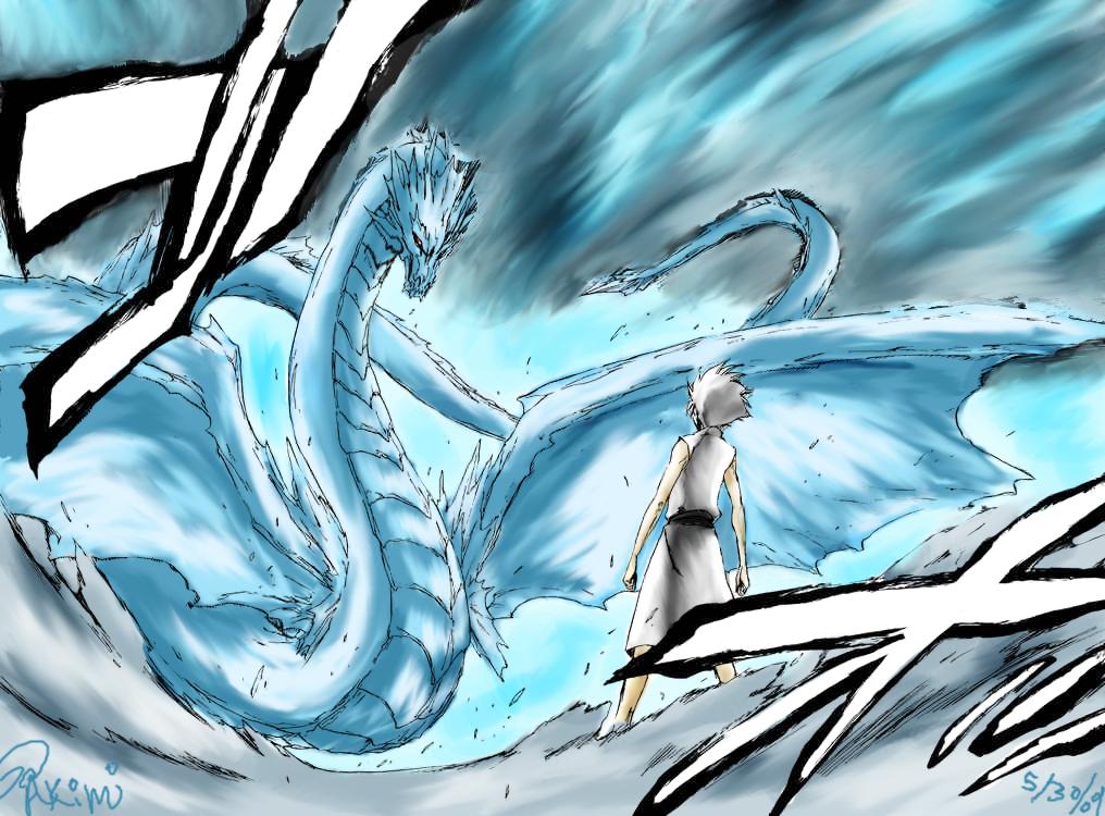 Ice Release: Frozen Dragon King | Naruto Fanon Wiki | FANDOM powered