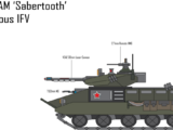 KMP-55am Sabertooth Infantry Fighting Vehicle