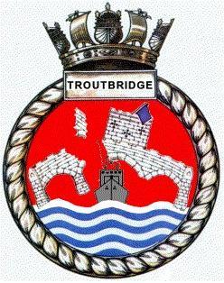 Crest - HMS Troutbridge