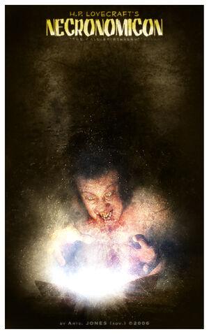 File:HP Lovecraft s Necronomicon by AjonesA.jpg