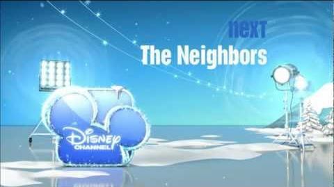 The Neighbors is next on Disney Channel SHORT - Fa-La-La-Lidays HD 2012