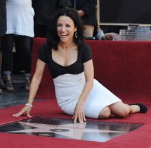 Julia-Louis-Dreyfus-receives-star-on-the-Hollywood-Walk-of-Fame-in-Los-Angeles 1