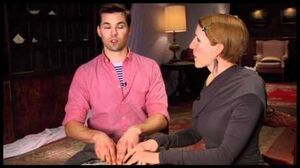 """Side by Side by Susan Blackwell """"The Book of Mormon"""" Star Andrew Rannells"""