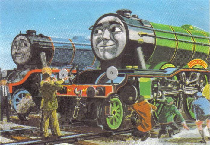 Flying Scotsman   The New Railway Series Wiki   FANDOM