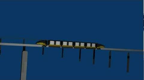 Zorillo Plaza Monorail Animation