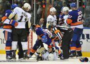 Penguins-IslandersBrawls