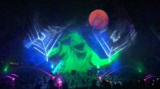 Villainous World of Color Water Show Oogie Boogie's Bash 2019