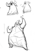Wicked villains concept art