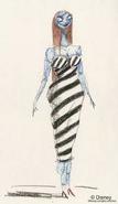 Sally Original Concept Art