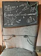 Chalkboard Prop NBC
