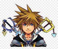 86-867328 blade-masters-avatar-kingdom-hearts-sora-face-clipart