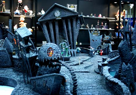 Image - Nightmare before christmas set model accessed 9-10-2011 6 ...