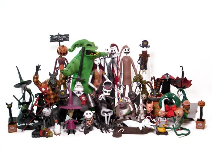Neca Action Figures | The Nightmare Before Christmas Wiki | FANDOM ...