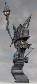 Nightmare Before Christmas Houses.Jack S House The Nightmare Before Christmas Wiki Fandom