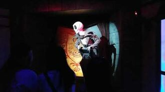 Nightmare Before Christmas Journey to Halloween Town Hong Kong Disneyland 2018