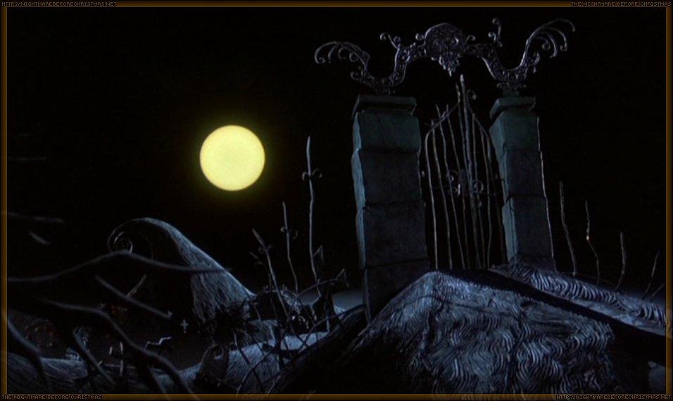 Graveyard   The Nightmare Before Christmas Wiki   FANDOM powered ...