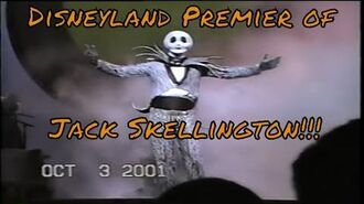 Haunted Mansion Holiday 2001 Event Opening- Premier Jack Skellington Nightmare Christmas Disneyland
