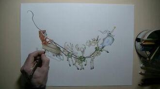 How to Draw Christmas Jack Skellington - Christmas Drawing Characters
