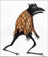 Werewolf concept art