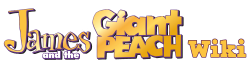 James and the Giant Peach Wiki-wordmark