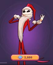 Santa jack costume