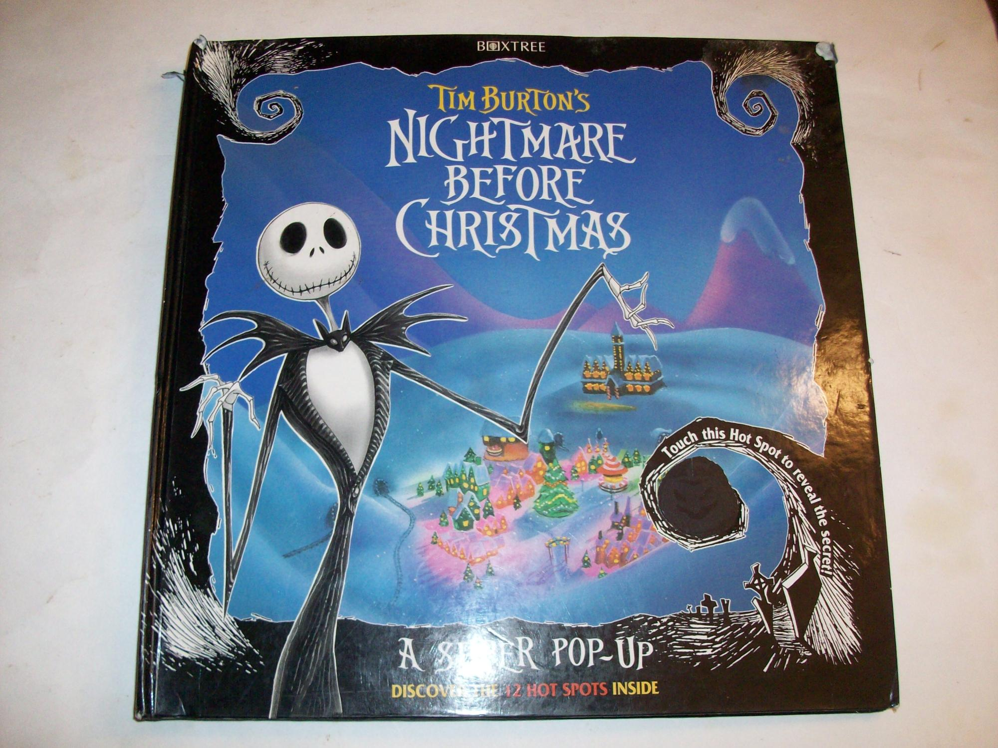 Nightmare Before Christmas Super Pop-Up Book | The Nightmare Before ...