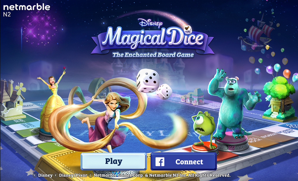 disney magical dice the enchanted board game - Nightmare Before Christmas Board Game