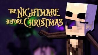 Minecraft Parody - NIGHTMARE BEFORE CHRISTMAS! - (Minecraft Animation)