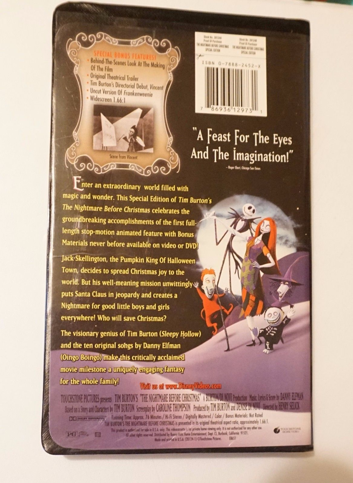 Image - NBC 2000 Special Edition VHS Back Side.jpg | The Nightmare ...