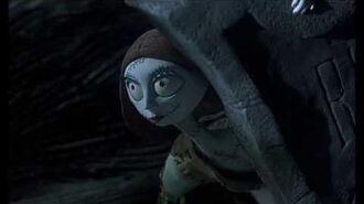 Nightmare Before Christmas Sally Watching Jack