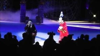 Disney On Ice Let's Celebrate - Halloween Segment - HD