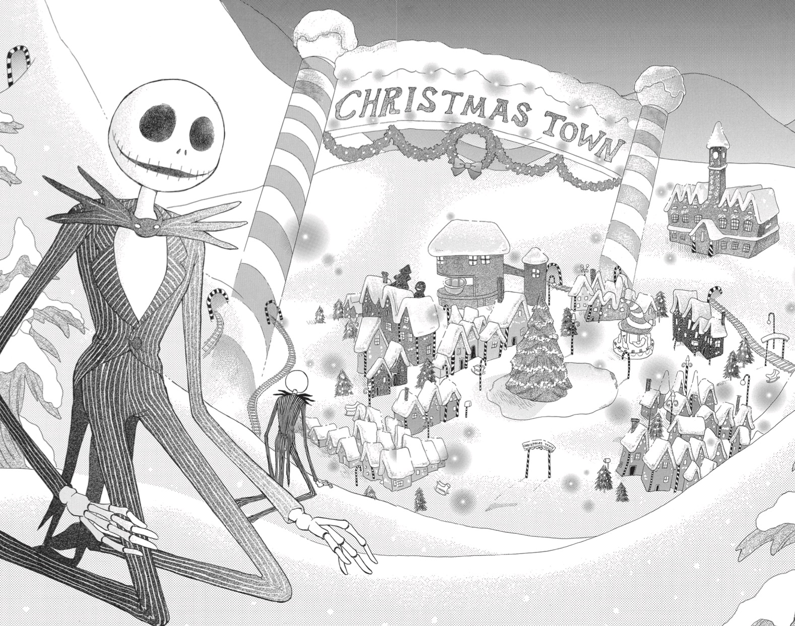 Image - Manga.jpg | The Nightmare Before Christmas Wiki | FANDOM ...