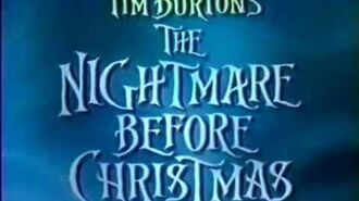 The Nightmare Before Christmas TV Spot (1993)