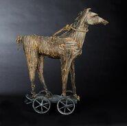 Jack Skellington's straw horse
